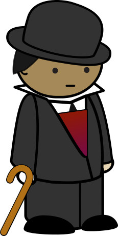 dapper gentleman - /cartoon/people/men_cartoons/other_men/dapper_gentleman. png.html - Dapper Gentleman PNG