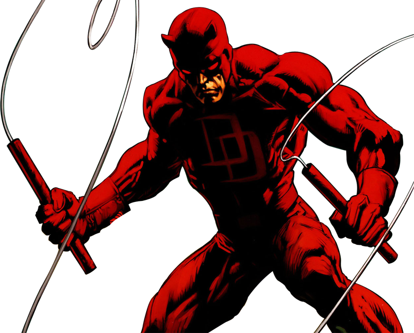 Daredevil-(Earth-1610).png - Daredevil HD PNG