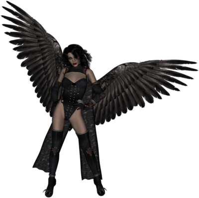 Similar Dark Angel PNG Image