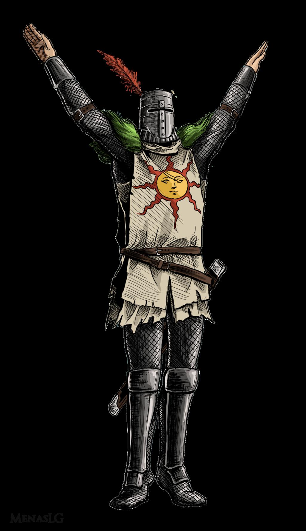 Dark Souls Solaire Transparent PNG - Dark Souls PNG