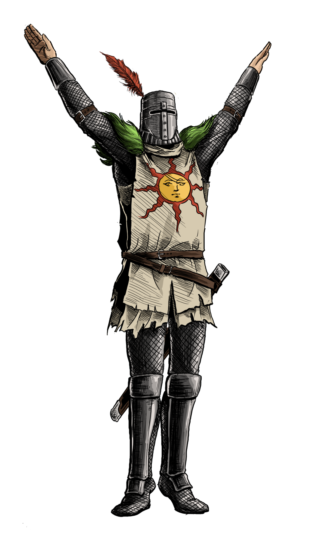 Full resolution PlusPng.com  - Dark Souls PNG