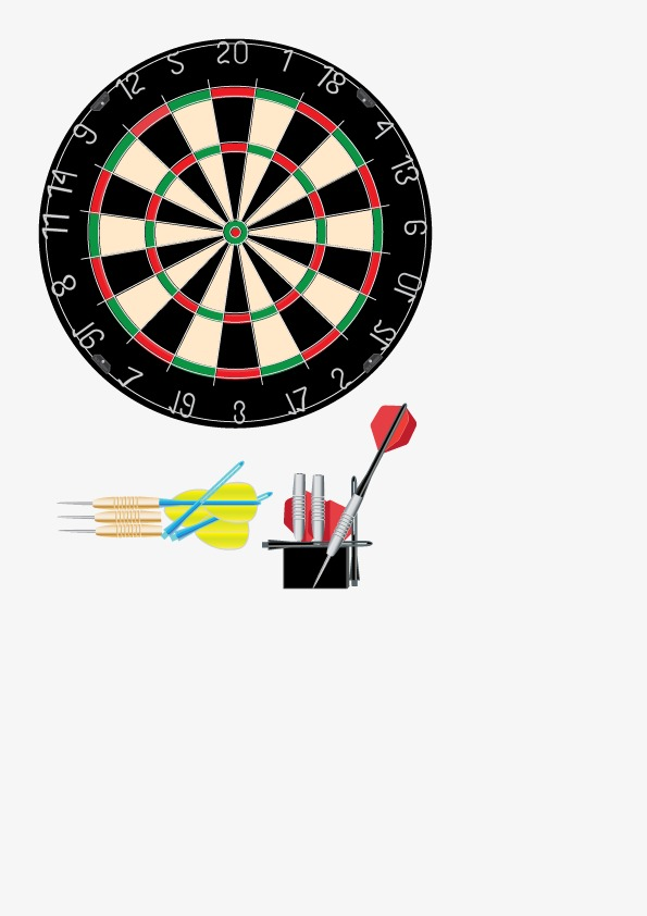 Vector Dart Board, Hd, Vector, Darts PNG and Vector - Dart Board PNG HD