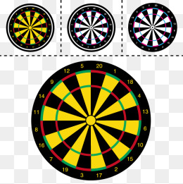 Vector dartboard, HD, Lovely, Pretty PNG and Vector - Dart Board PNG HD