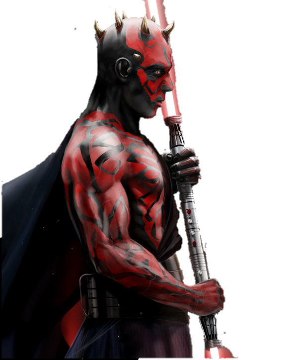 Darth Maul PNG Render by MrVideo-VidMan PlusPng.com  - Darth Maul PNG