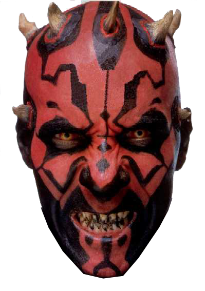 images/star-wars/darth-maul-head.png - Darth Maul PNG
