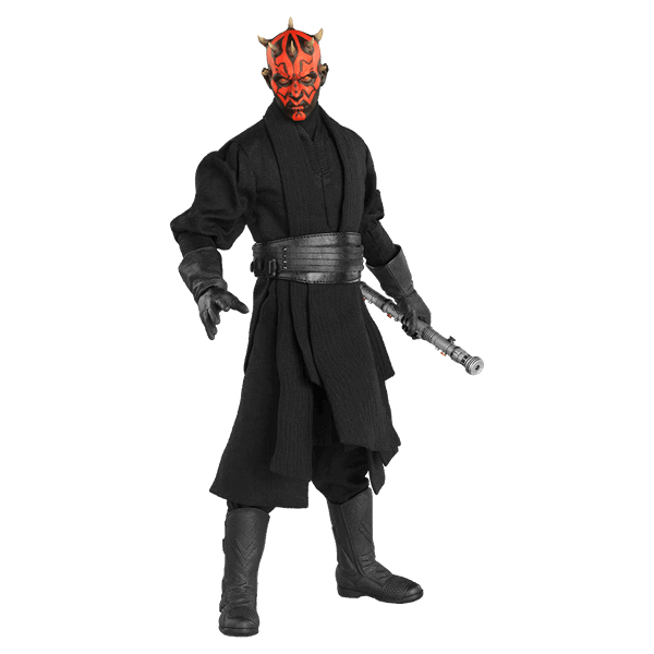 Star Wars - Episode I - Darth Maul 1/6 Scale Sideshow Collectibles Figure -  ZiNG Pop Culture - Darth Maul PNG