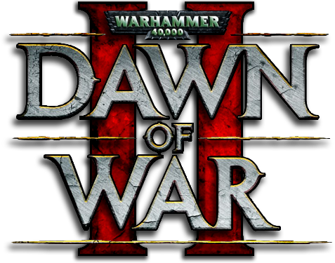 Dawn of War II Logo by LionElJonson PlusPng.com  - Dawn Of War PNG