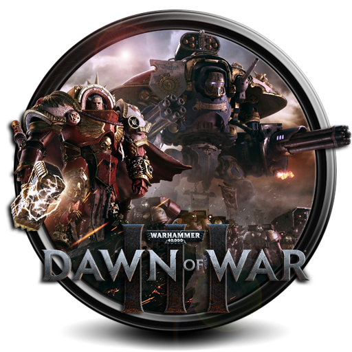 Warhammer 40 000 Dawn of War III png icon by S7 by SidySeven PlusPng.com  - Dawn Of War PNG