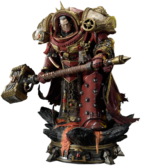 Warhammer-dawn-of-war-3-gabriel-angelos-statue- PlusPng.com  - Dawn Of War PNG