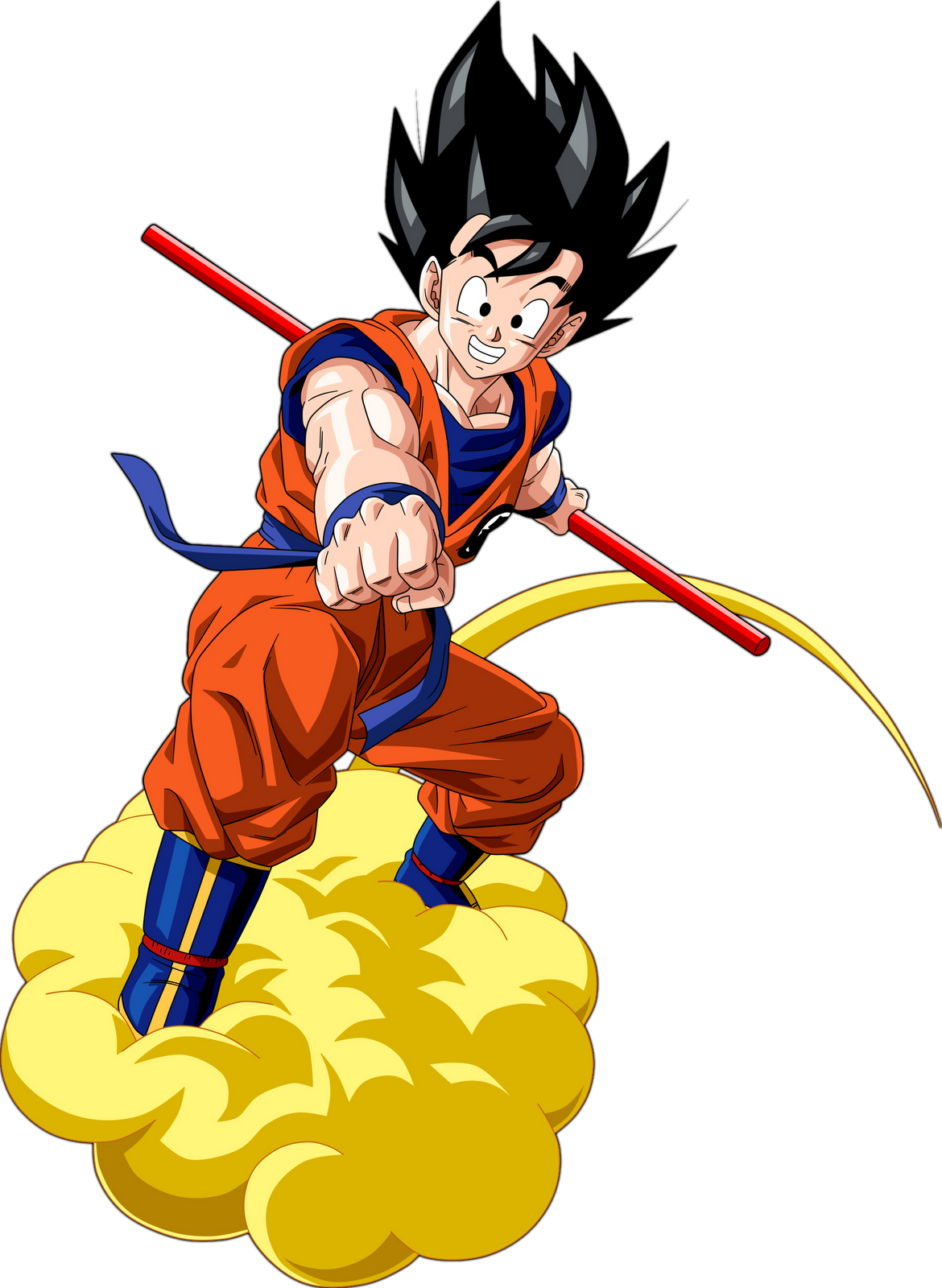Dragon Ball Goku Transparent Background - Dbz PNG