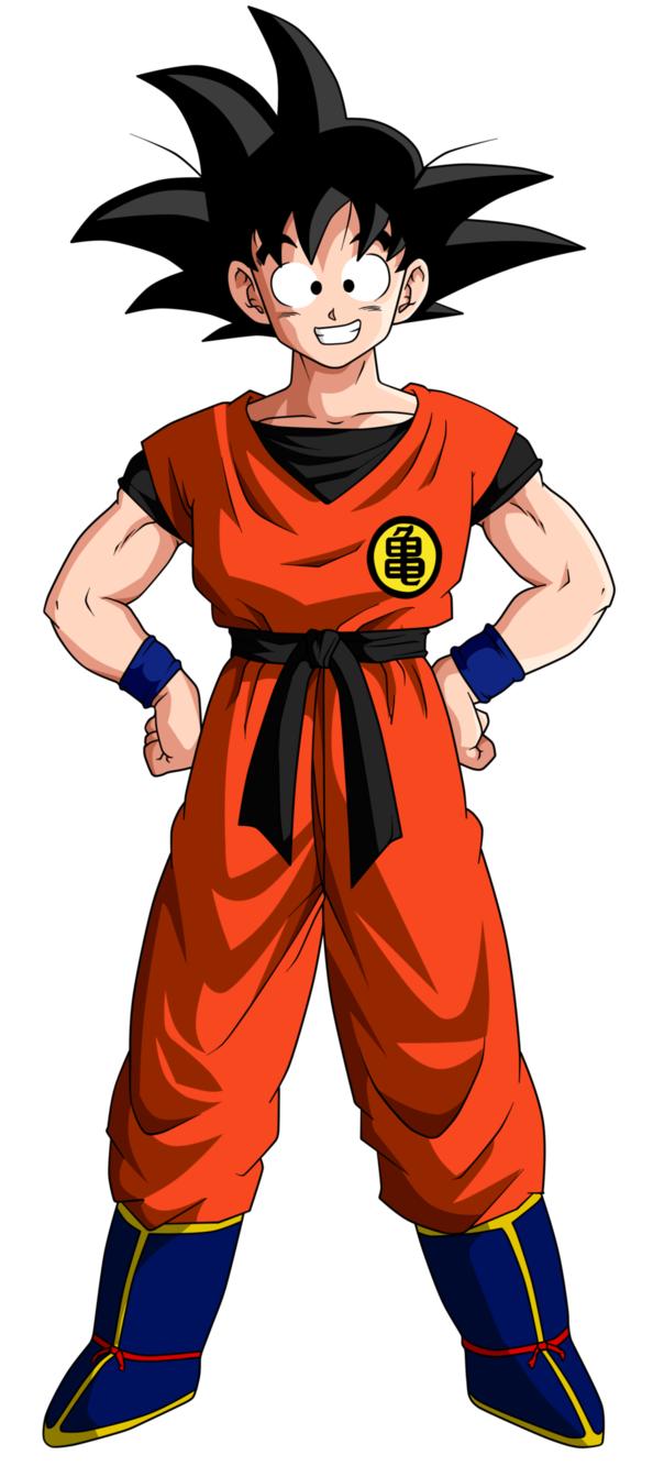Goku DBZ.png - Dbz PNG