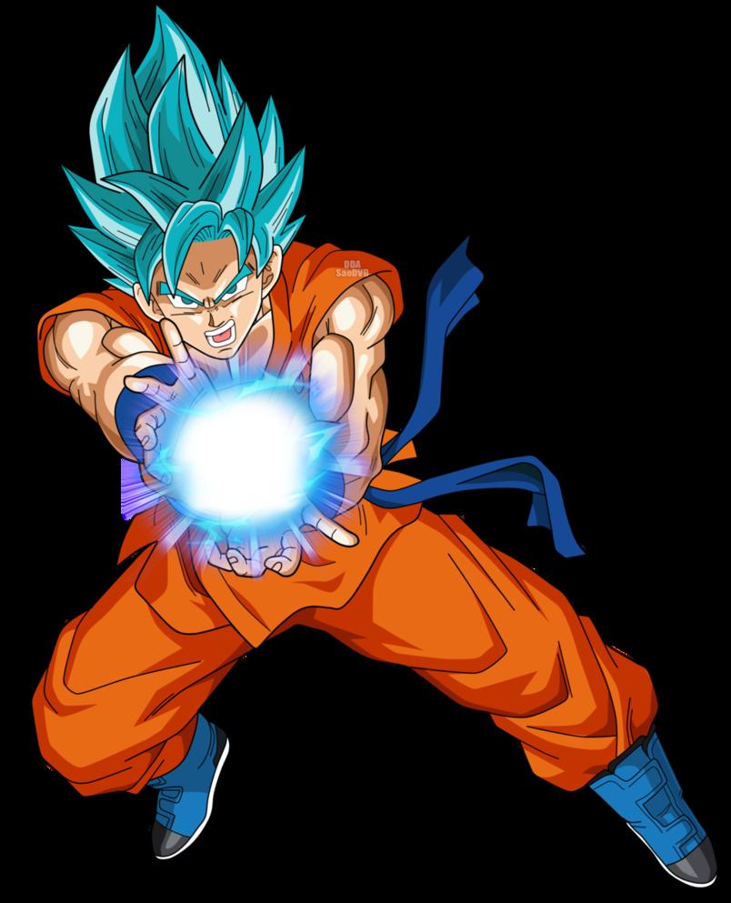 Goku SSGSS by SaoDVD PlusPng.com  - Dbz PNG
