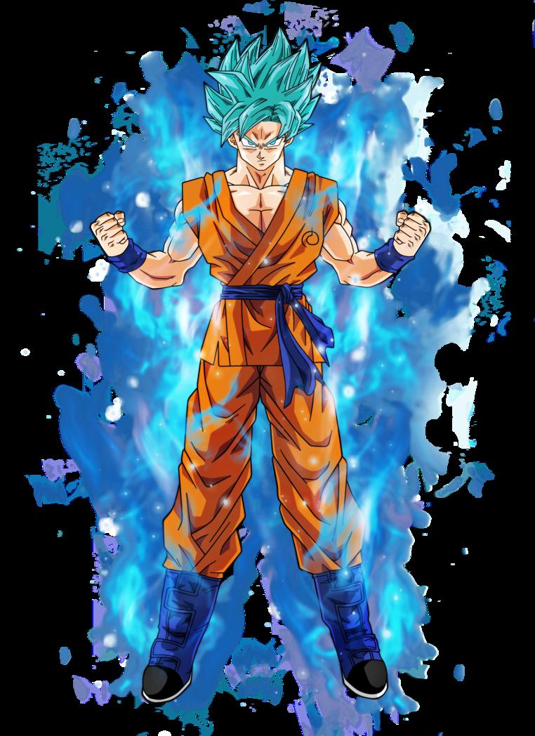 Goku super saiyan blue by bardocksonic-d9dfaqg.png - Dbz PNG