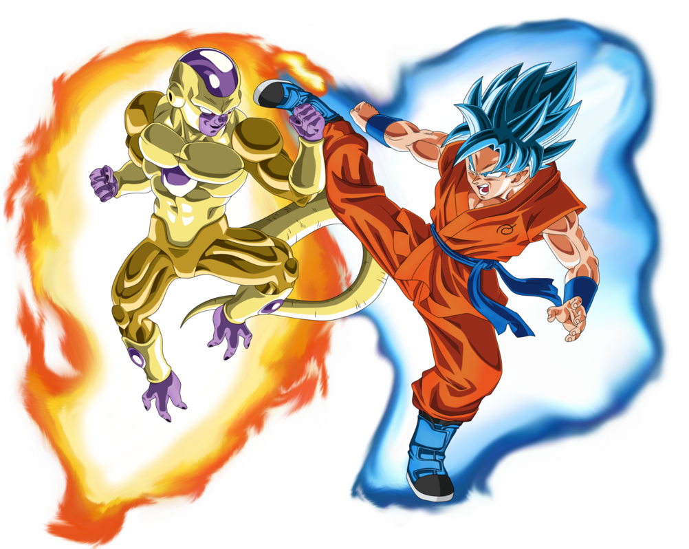 gold_frieza_vs_ssgss_goku_aura_by_eymsmiley-d8zo7xa.png (1002×798) - Dbz PNG
