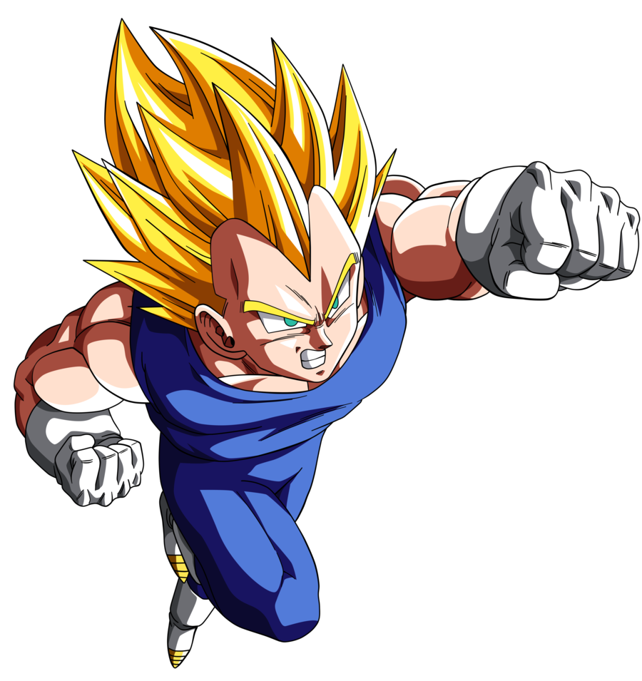 . PlusPng.com Ssj 2 Vegeta - DBZ Movie #13 v.2 by nMINATO - Dbz PNG
