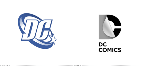 DC Comics Logo, Before and After - Dc Comics Logo PNG