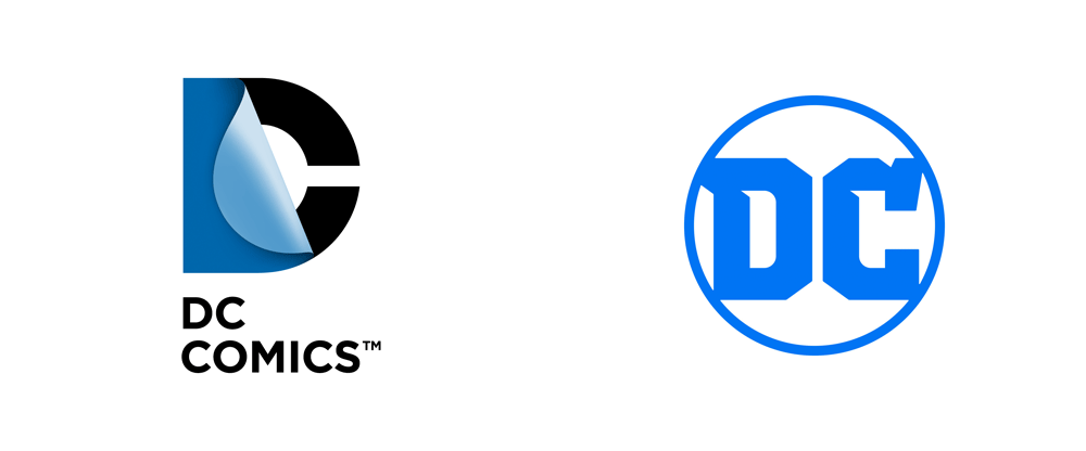 New Logo for DC Comics / DC Entertainment by Pentagram - Dc Comics Logo PNG