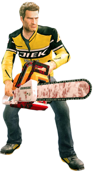Image - Dead rising chainsaw (dead rising 2) holding.png | Dead Rising Wiki  | FANDOM powered by Wikia - Dead Rising HD PNG