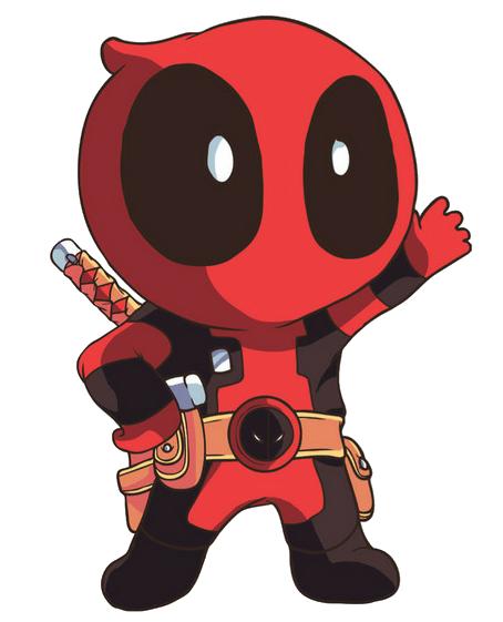 Cute Deadpool Chibi Png PNG Image - Deadpool PNG