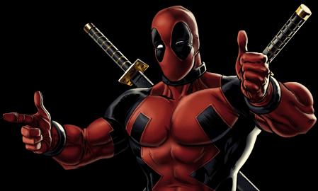 Deadpool-B Dialogue.png - Deadpool PNG
