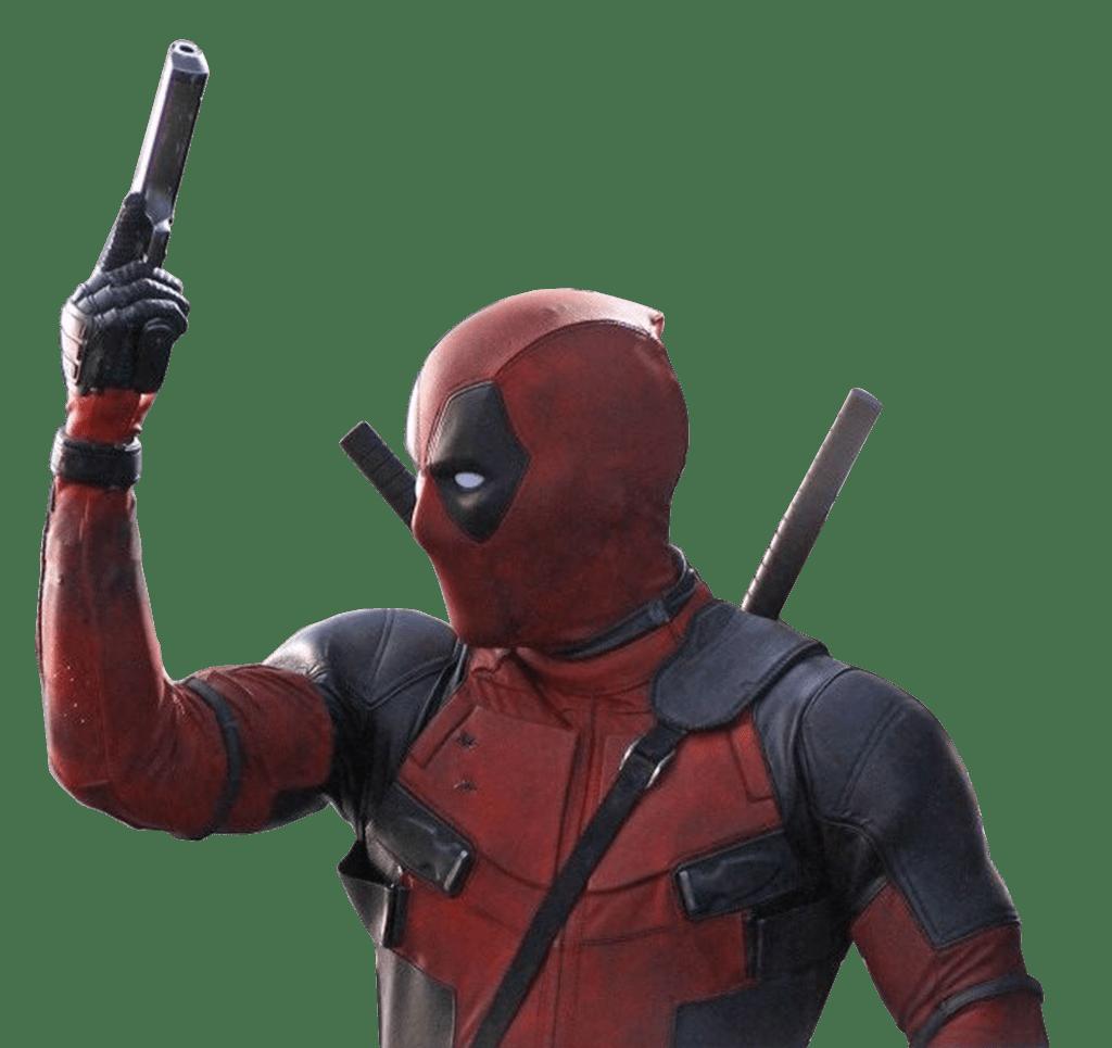 Deadpool Holding Gun - Deadpool PNG