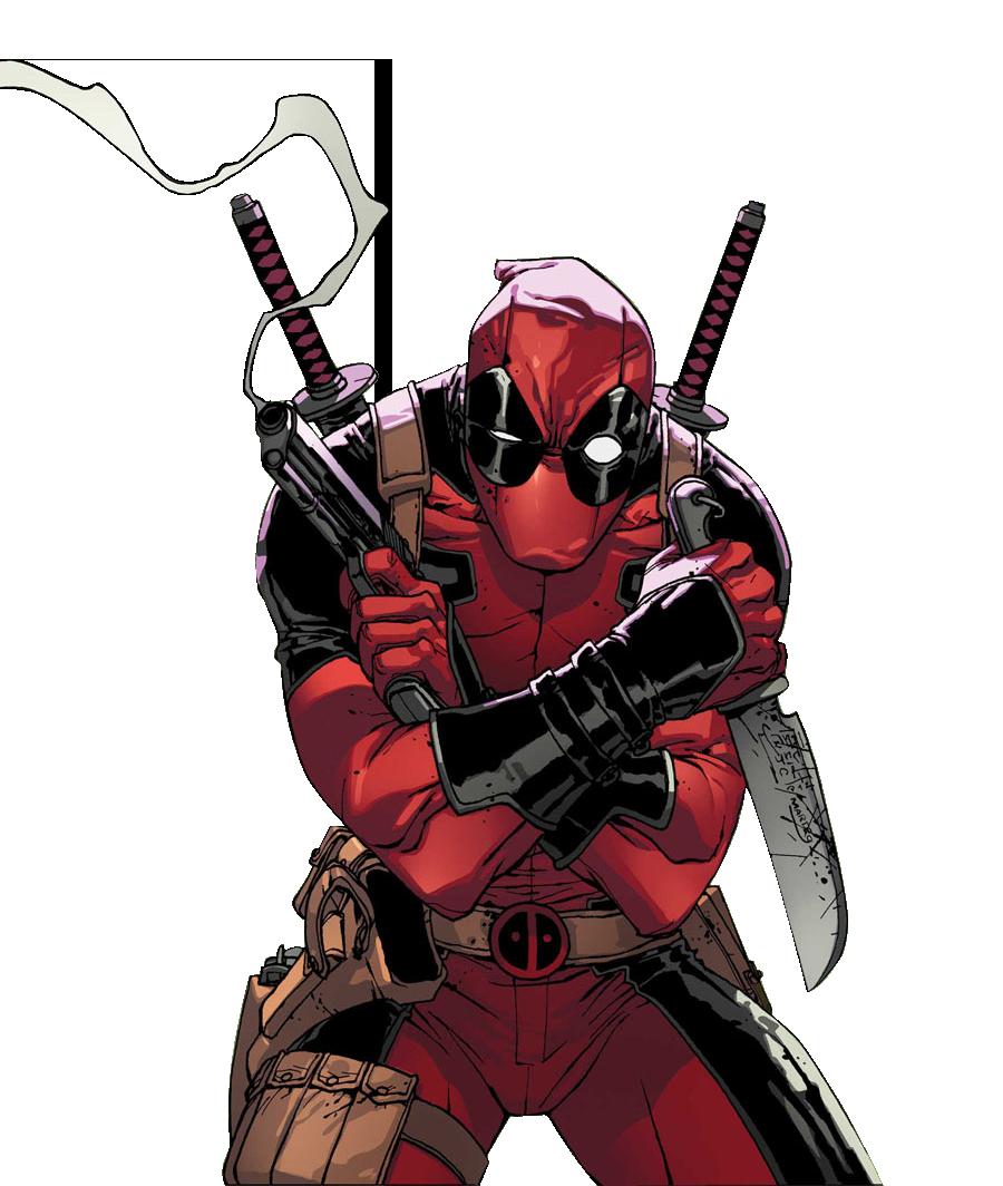 Deadpool render.png - Deadpool PNG
