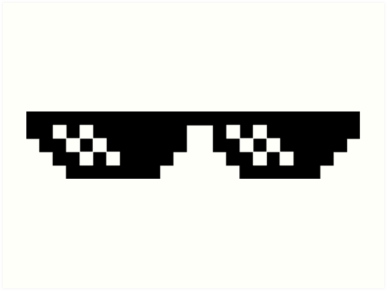 Deal With It Glasses by JordiRapture36 - Deal With It PNG