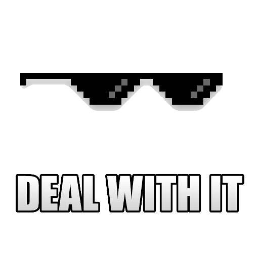 Deal With It PNG - 20860