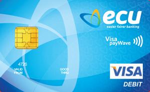 ECU Visa Debit Cad - Debit Card PNG