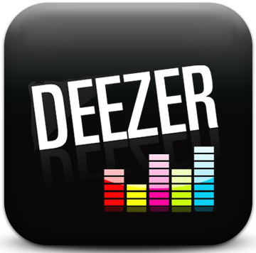 deezer music logo French music streaming company launches this week in the  US.