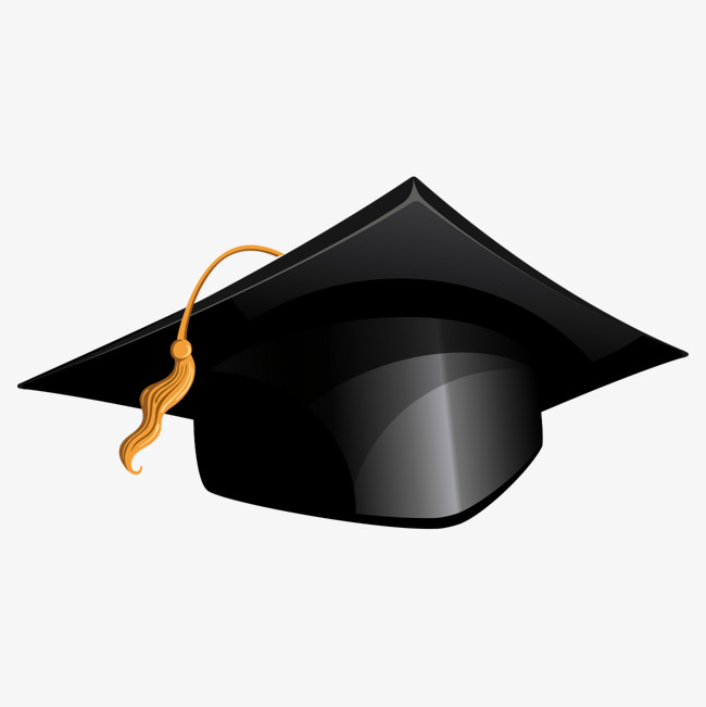 Bachelor graduate hat, SCHOOL, The University, Bachelor Degree Free PNG and  Vector - Degree Cap PNG
