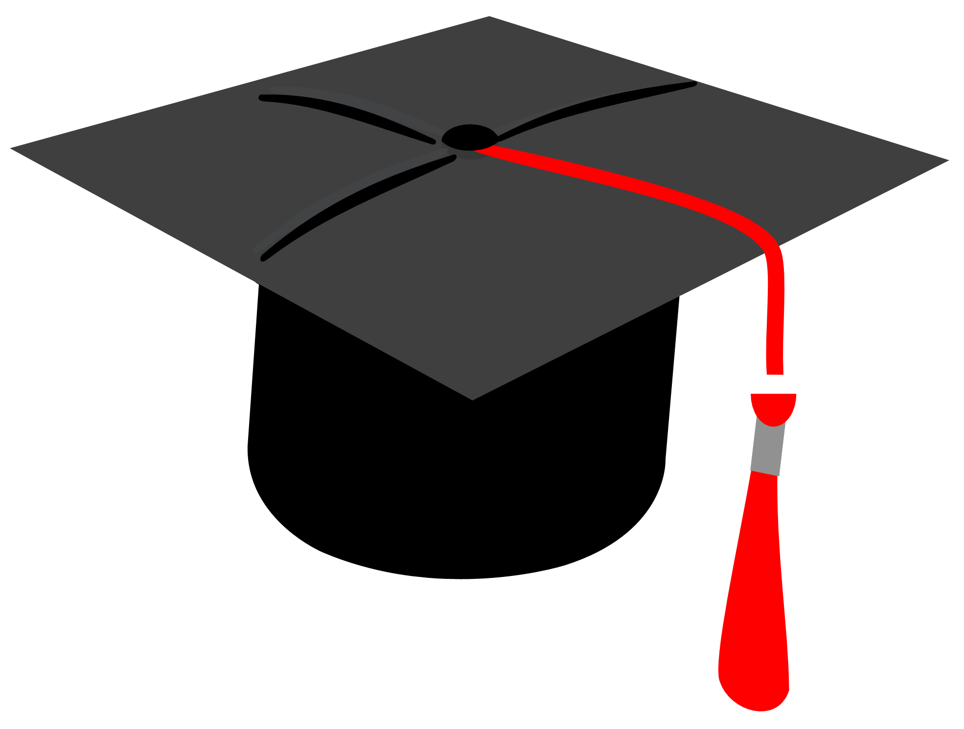 Graduation Cap PNG Transparent Image - Degree Cap PNG