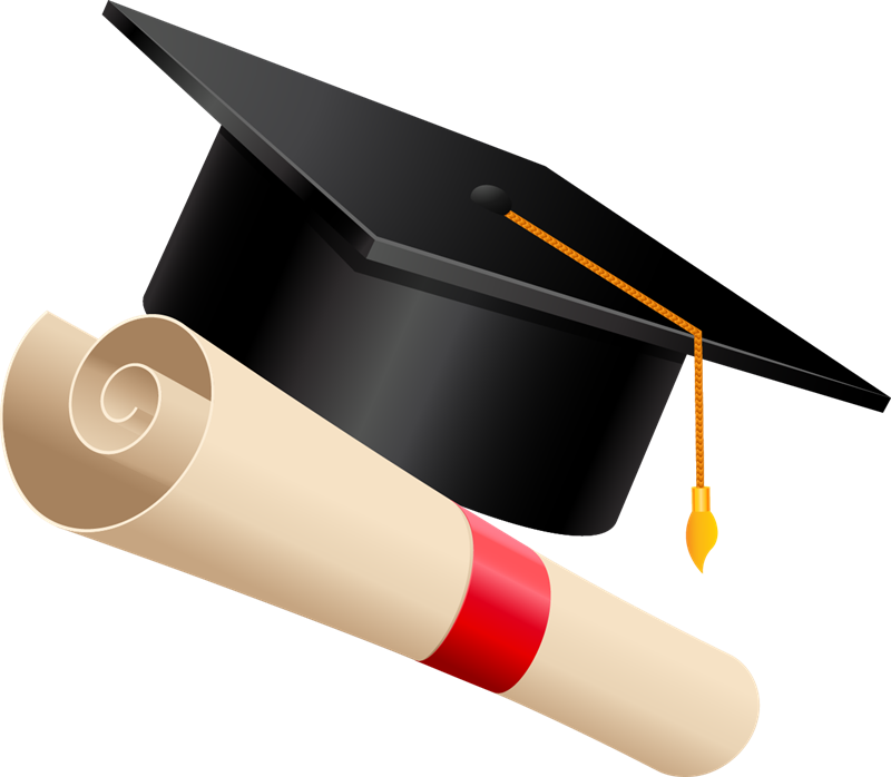 pin Hat clipart student #6 - Degree Cap PNG
