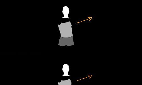 Dehnung des Schultergürtels - Dehnen PNG