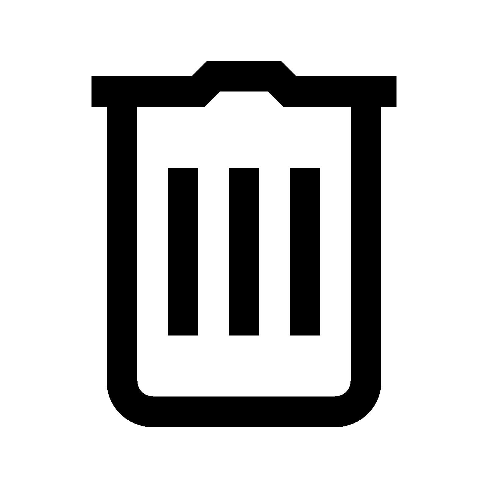 Delete Button PNG - 25808