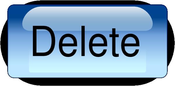 Delete Button PNG - 25795