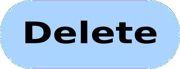 Delete Button PNG - 25809