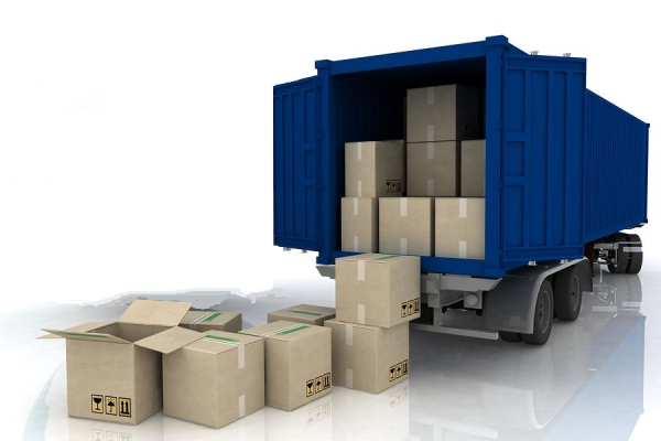 Loading / Unloading - Delivery Truck Unloading PNG