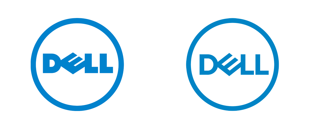 New Logos for Dell, Dell Technologies, and Dell EMC by Brand Union - Dell Logo PNG