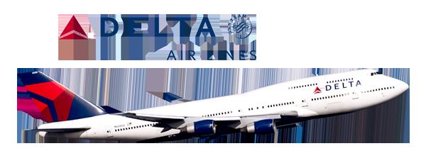 Ahorrar hasta 30% Reservar vuelo - Delta Airlines PNG