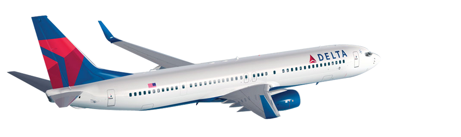 Cheap Delta Airlines Flights | Get Delta Airlines tickets online with  HolidayMood - Delta Airlines PNG