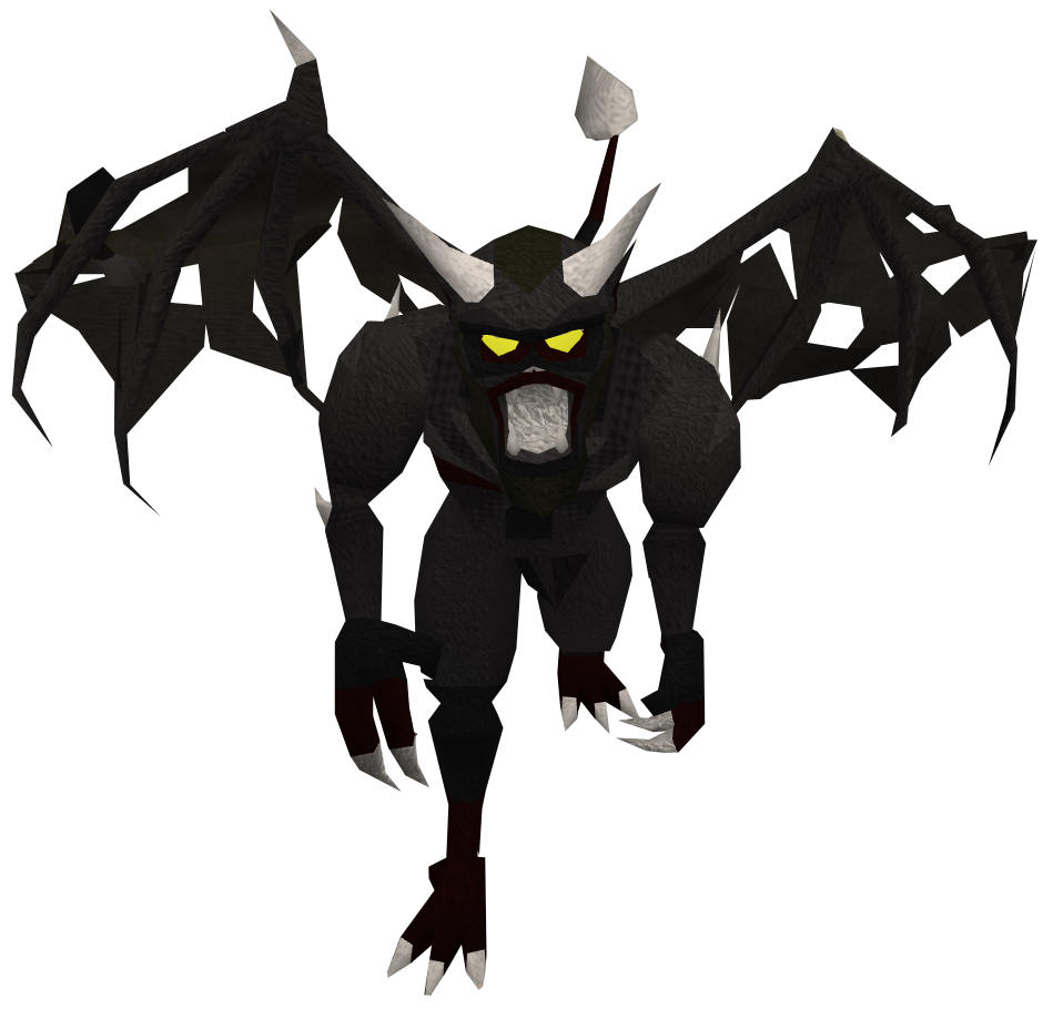Black demon old4.png - Demon PNG