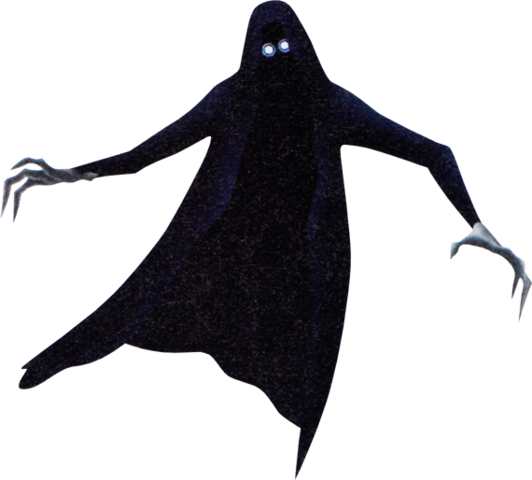 Demon (black) KH3D.png - Demon PNG