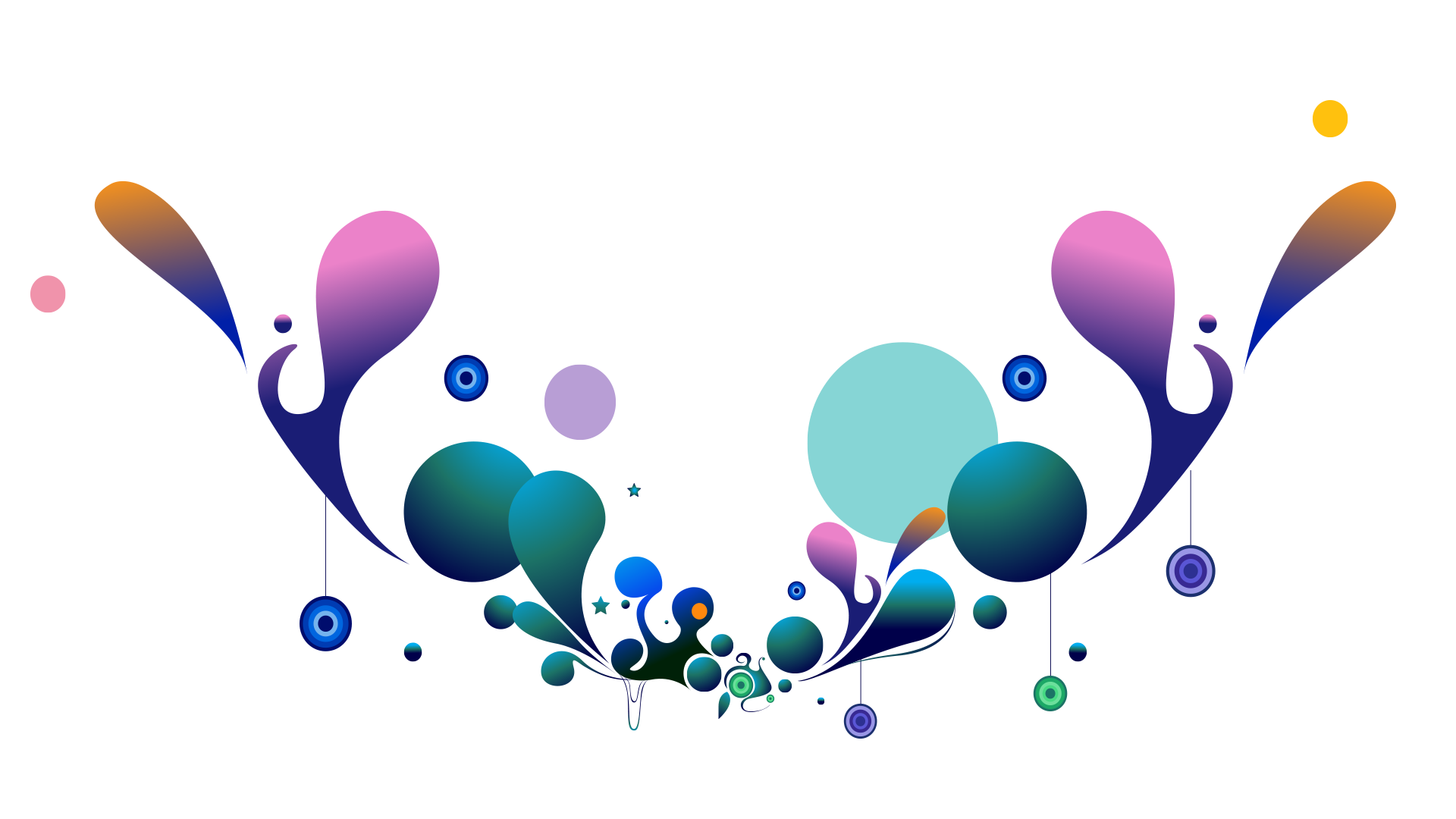 Flower Vector Design Png - Cl