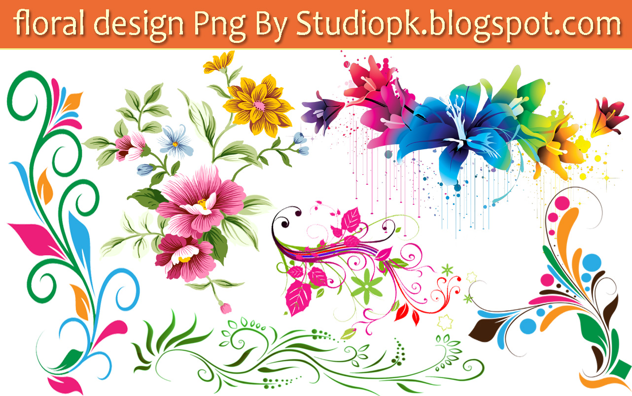 25+Floral+Designs+Png+Download+%283%29 - Designing PNG HD