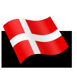 Danmark Denmark Flag Icon - Det Danske Flag PNG