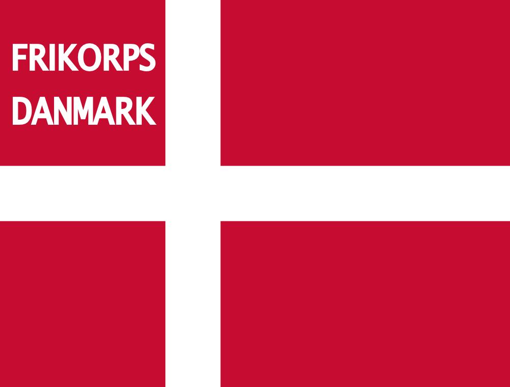 File:Frikorps Danmark flag.png - Det Danske Flag PNG