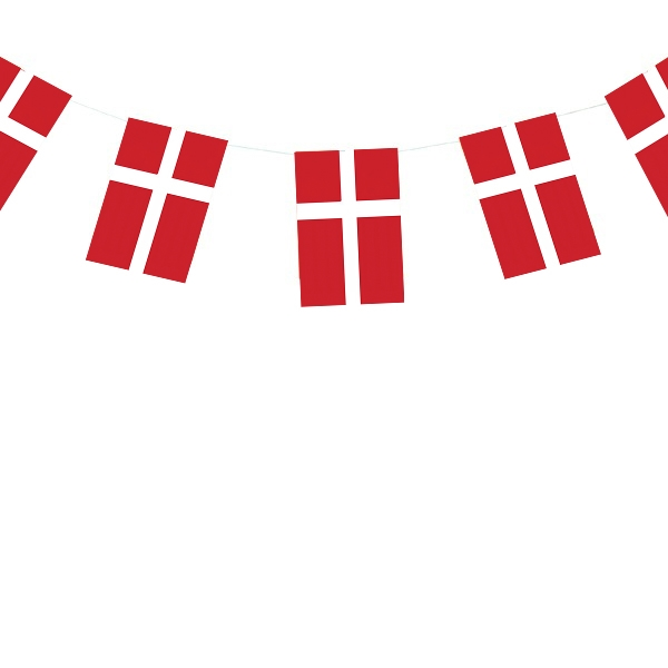 Denmark - Flag with flagpole