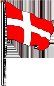 Microsoft clipart dansk - Det Danske Flag PNG