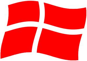Microsoft Flag Cliparts #2869756 - Det Danske Flag PNG